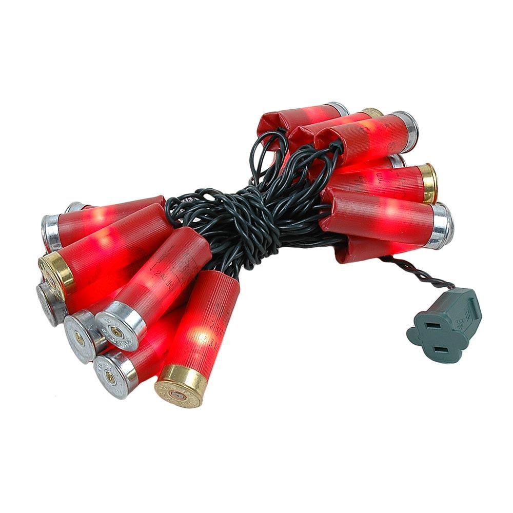 Picture of Redneck Shotgun Shell Lights Green Wire