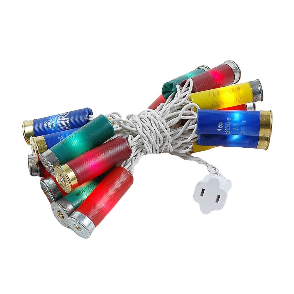 Picture of Shotgun Shell Lights Multi White Wire