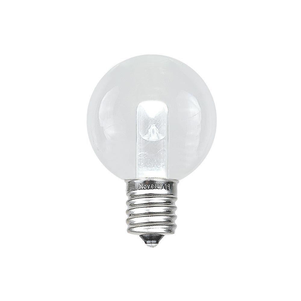 Picture of Designer Series Pure White G30 LED  Base e12 Bulbs 25 Pack