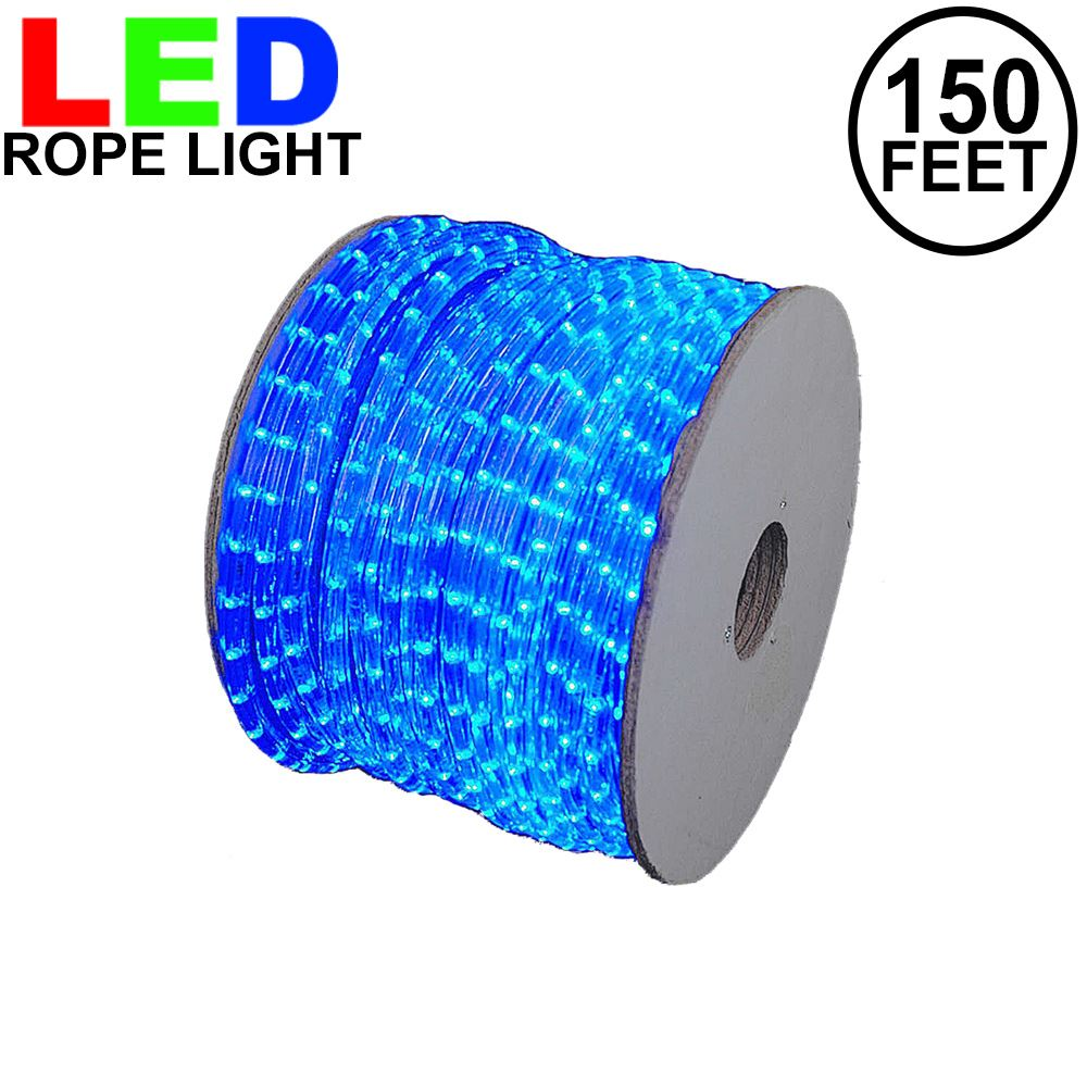 "Picture of Blue LED Spool 150' 1/2"" 2 Wire 120V"