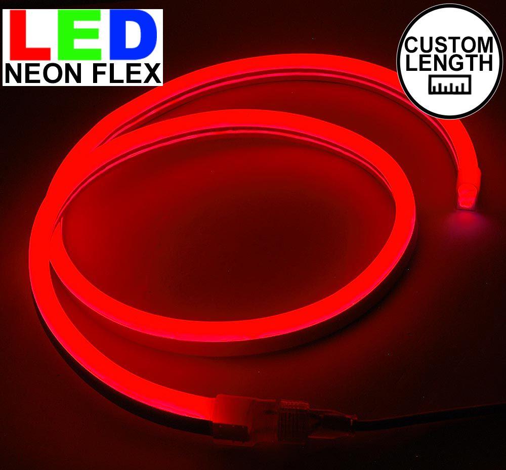 Picture of Red LED Neon Flex Custom Cut 120v