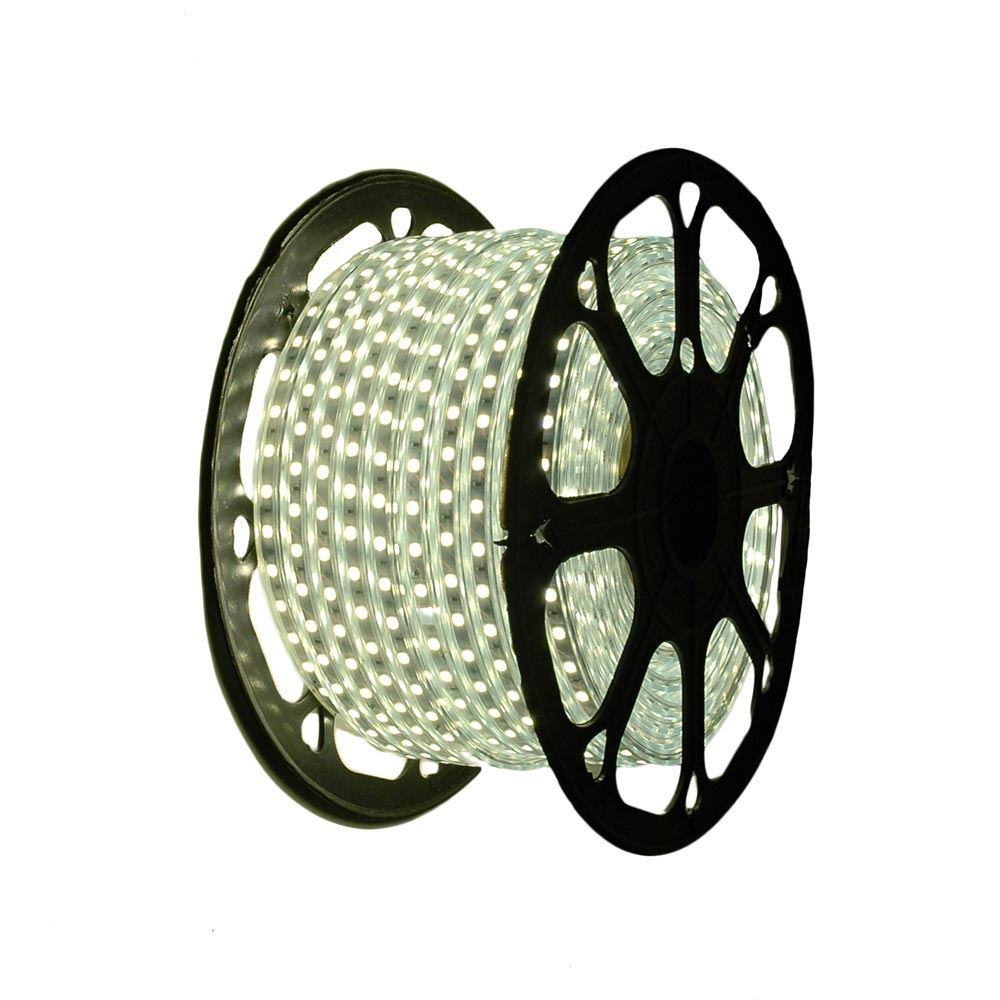 """Picture of Warm White LED Strip Light Spool 164' of 1/2"""" 2 Wire 120V"""