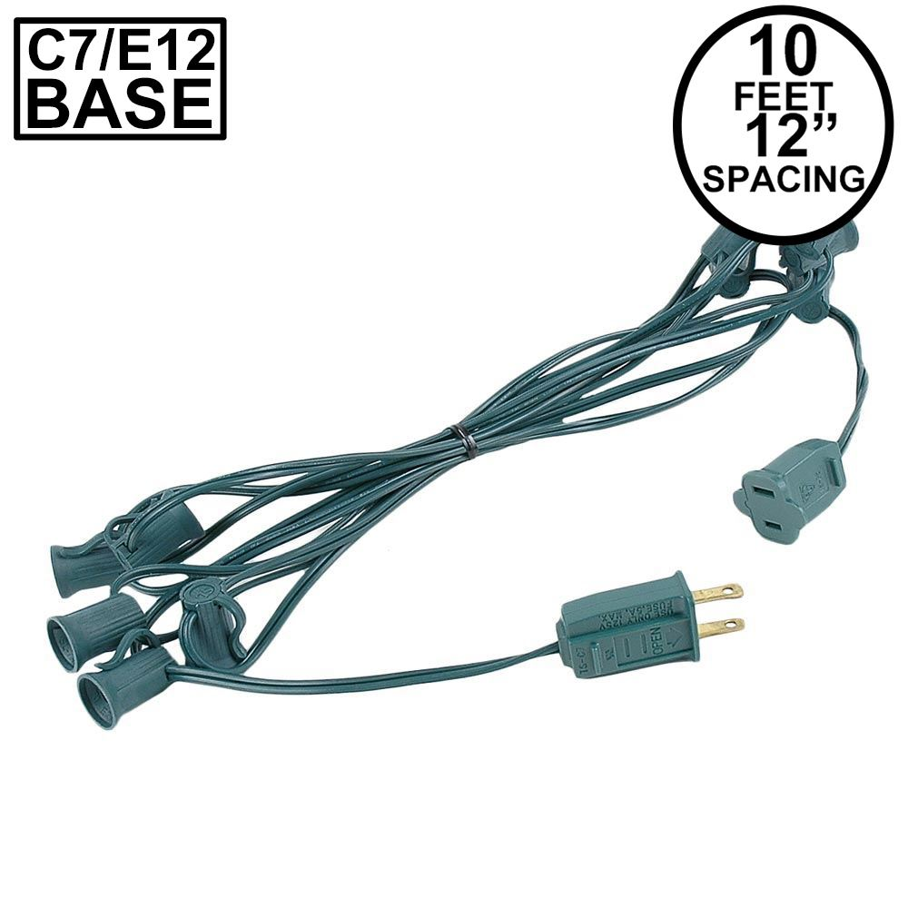 "Picture of C7 10' Stringers 12"" Spacing Green Wire"