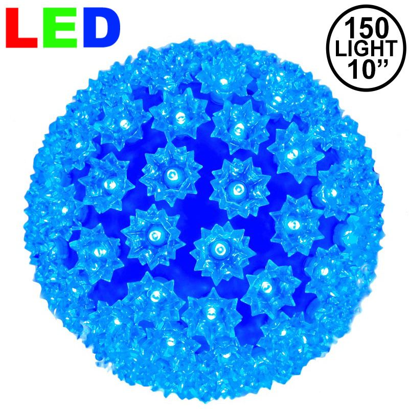 "Picture of 150 Blue LED 10"" Sphere"