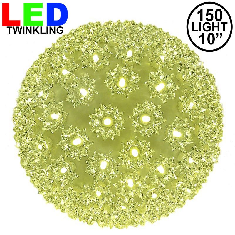 "Picture of 150 Twinkle LED 10"" Sphere"