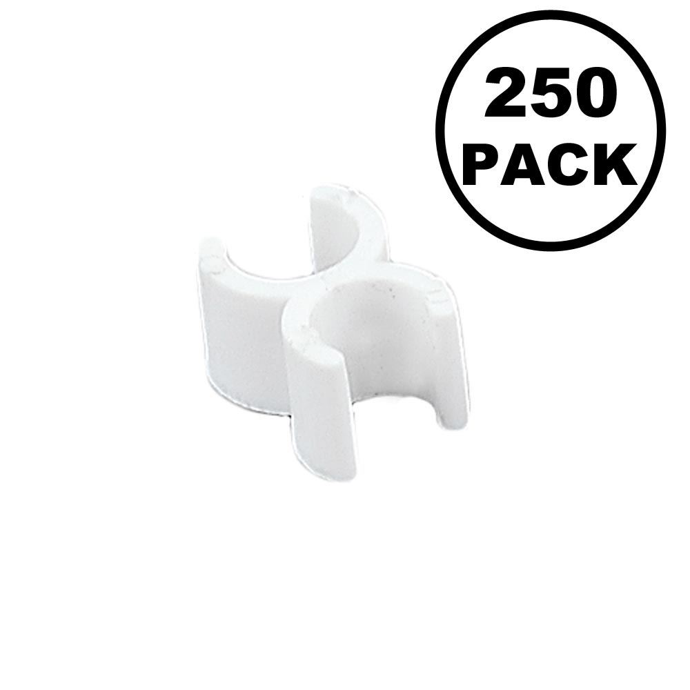"""Picture of Wire Frame Clips for 1/4"""" Wire 250 Pack"""