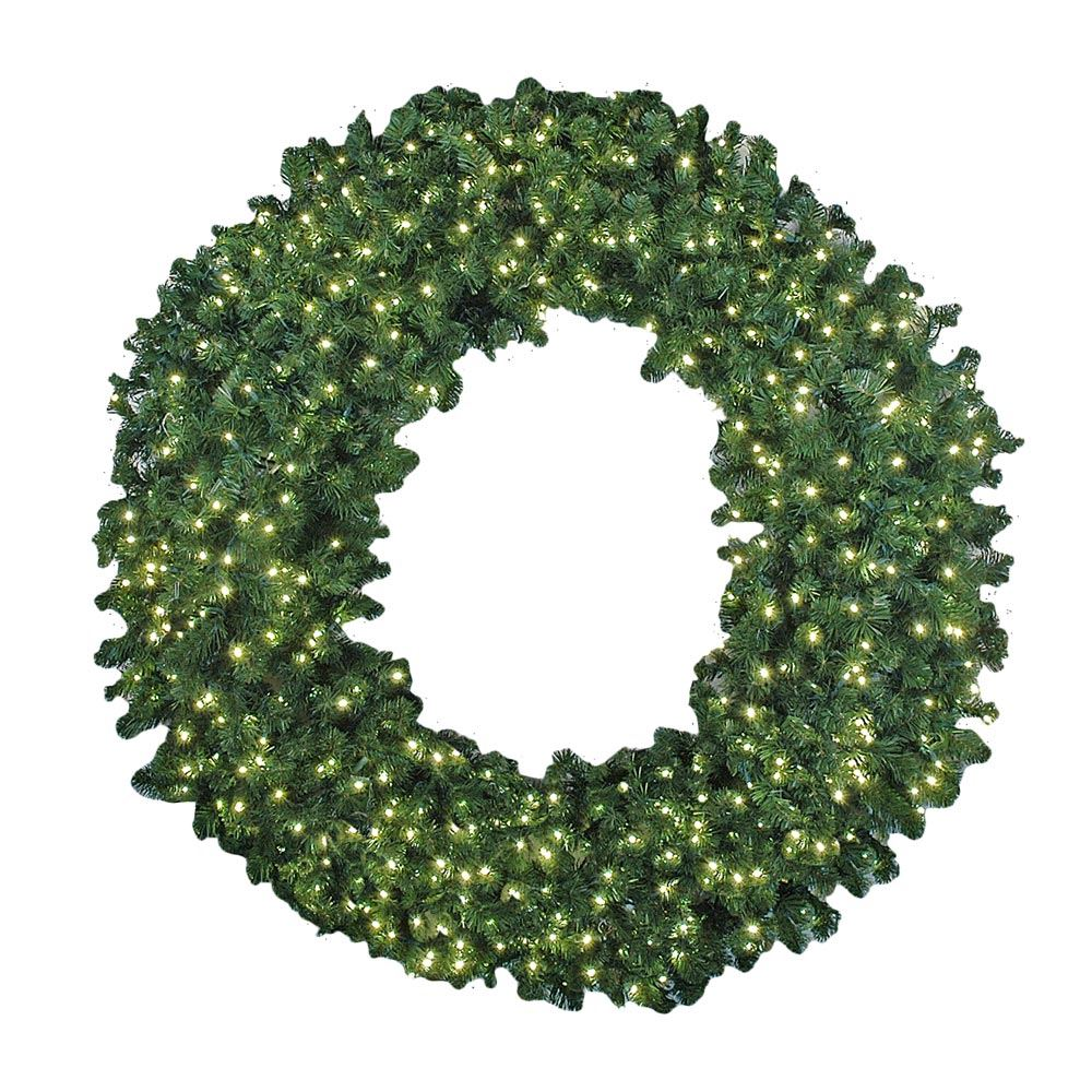 "Picture of 60"" Commercial Colorado Pine Wreath"