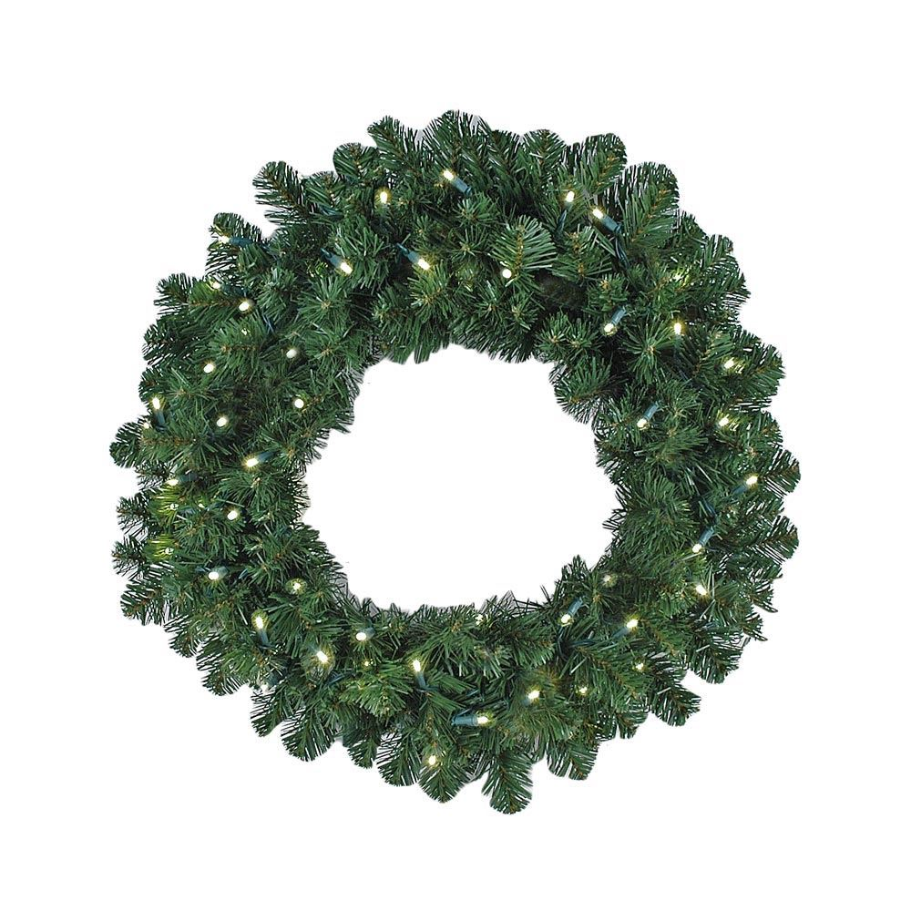 "Picture of 24"" Colorado Pine Wreath"