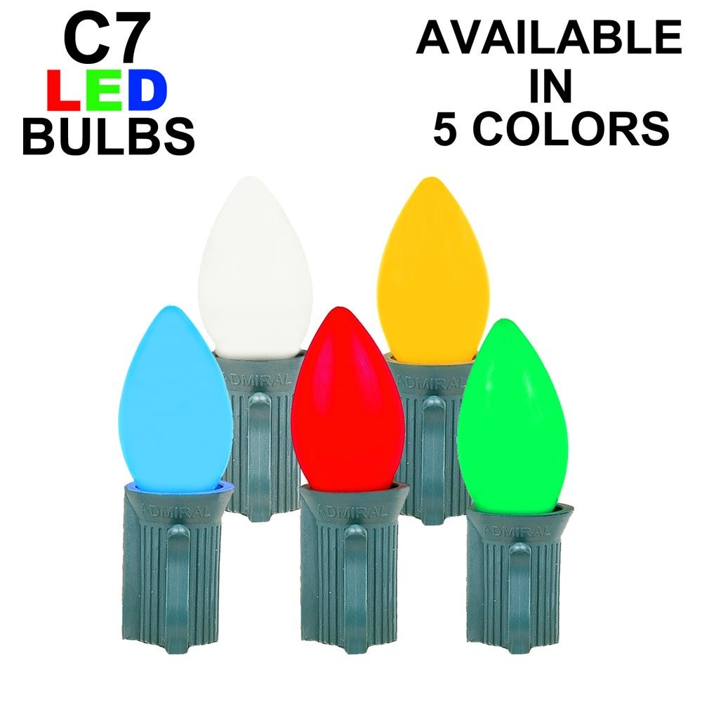 Picture of C7 - Ceramic (plastic) LED Replacement Bulbs ** On Sale**