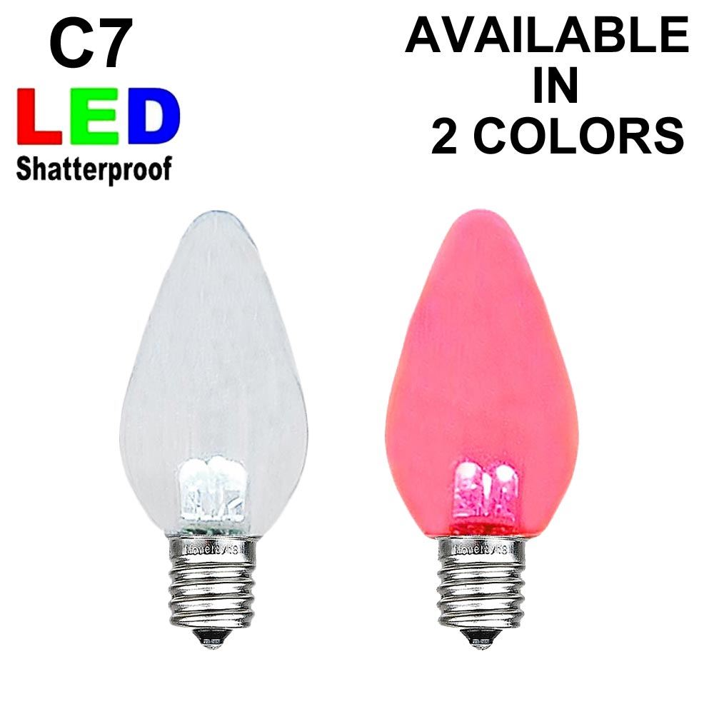 Picture of C7 - Smooth Plastic LED Replacement Bulbs ** On Sale**