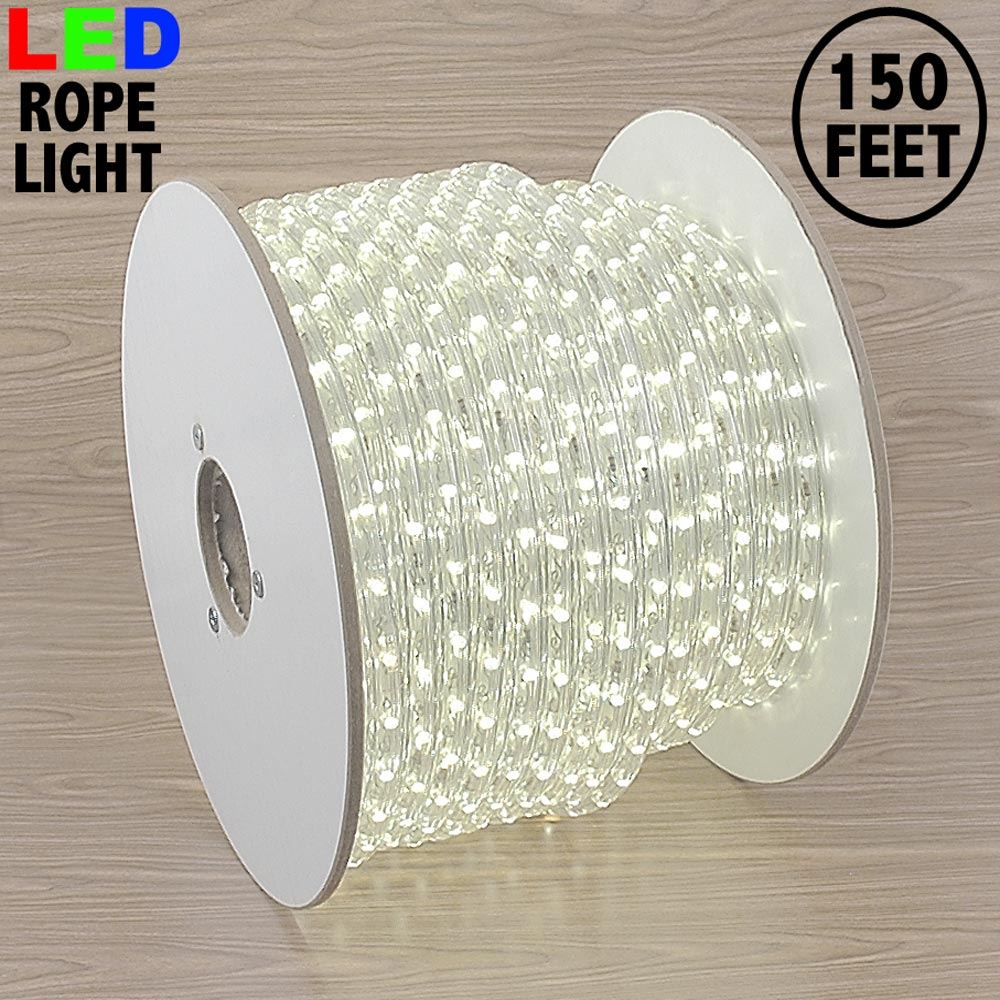"Picture of Warm White LED Spool 150' 1/2"" 2 Wire 120V"