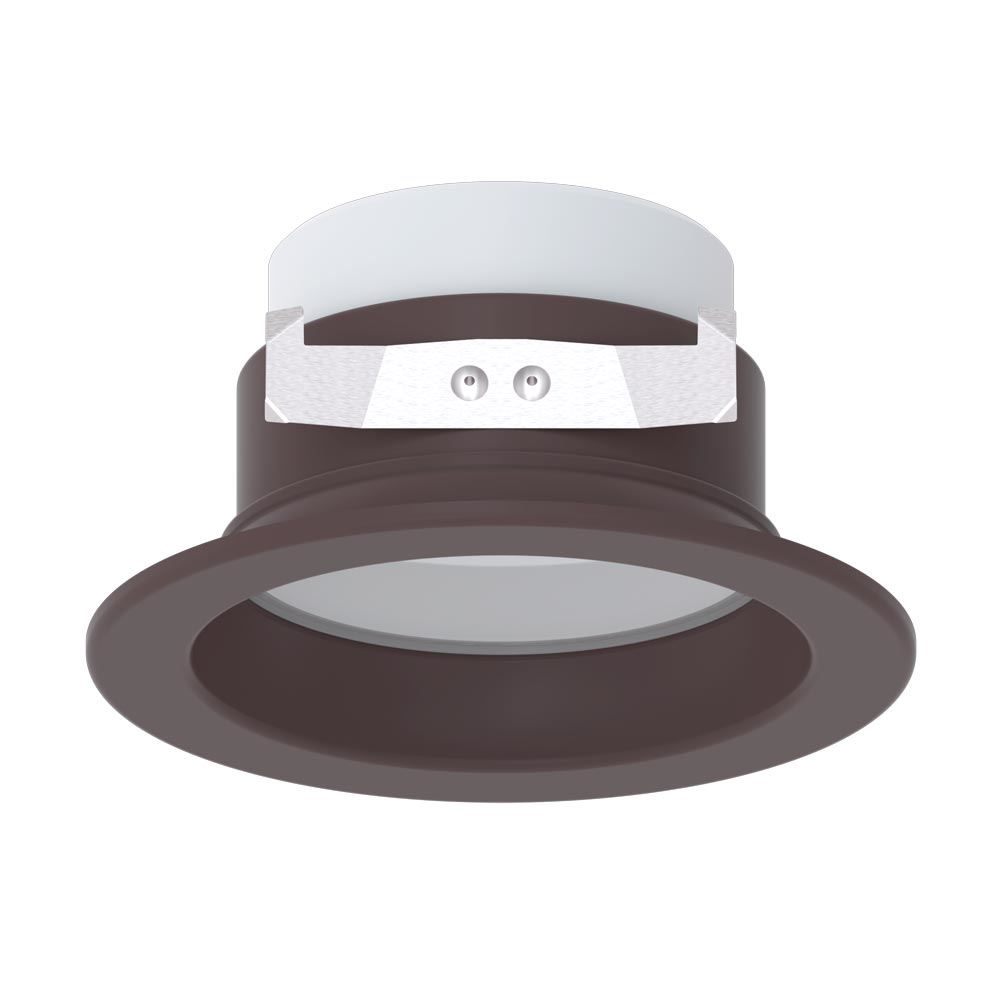 Picture of 4 Inch LED Downlight(10W) Dark Bronze Dimmable 5 Color Select 120V
