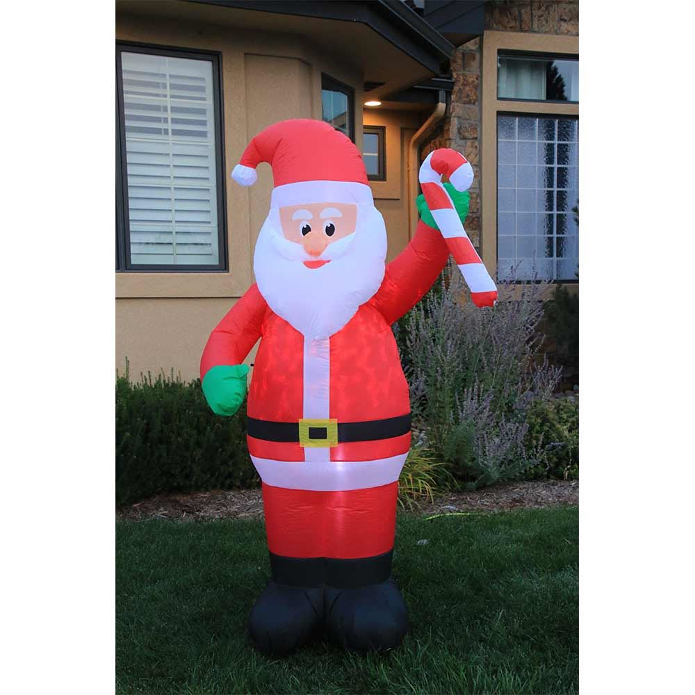 Picture of 7' Inflatable Swirling Santa