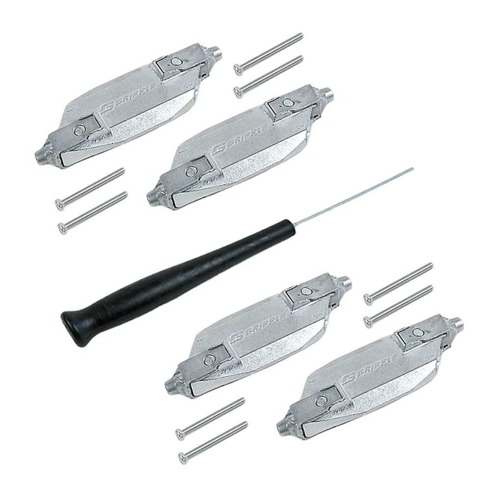 Picture of 4-Pack Heavy Duty Cable Locks (3MM)